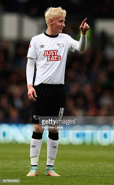 Will Hughes of Derby County in action during the Sky Bet Championship match between Derby County and Wigan Athletic at the iPro Stadium on October 25...