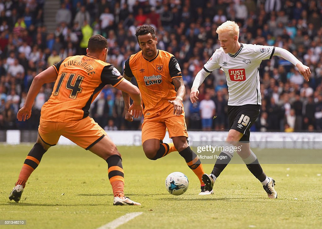 Derby County v Hull City - Sky Bet Championship Play Off: First Leg : News Photo