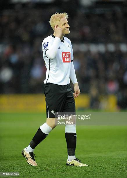 Will Hughes of Derby during the Barclays U21 Premier League match between Derby County U21 and Arsenal U21 at iPro Stadium on April 11 2016 in Derby...