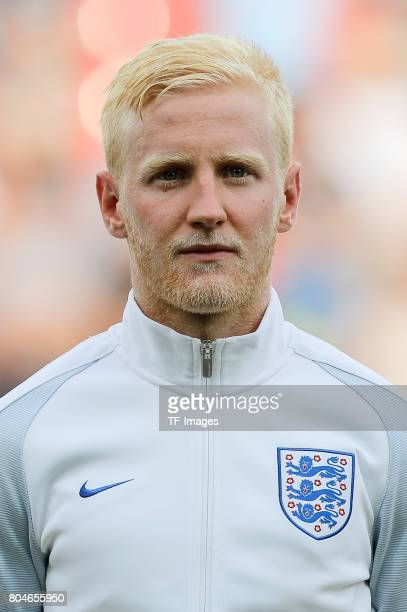 Will Hughes of England looks on during the UEFA European Under21 Championship Semi Final match between England and Germany at Tychy Stadium on June...