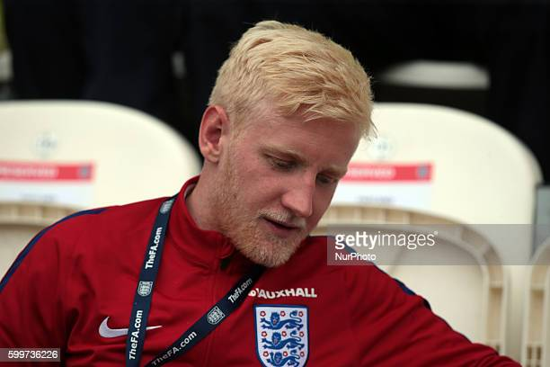 Will Hughes of England U21's during the prematch warmup during UEFA European U21 Championship Group 9 Qualifier match between England Under 21 and...