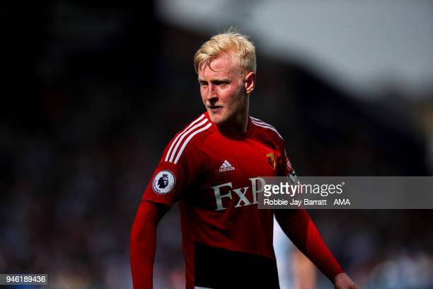 Will Hughes of Watford during the Premier League match between Huddersfield Town and Watford at John Smith's Stadium on April 14 2018 in Huddersfield...