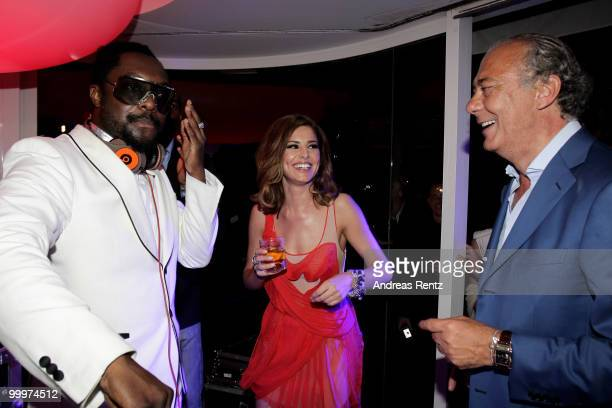 Will Iam Cheryl Cole and Fawaz Gruosi attend the de Grisogono Party at the Hotel Du Cap on May 18 2010 in Cap D'Antibes France