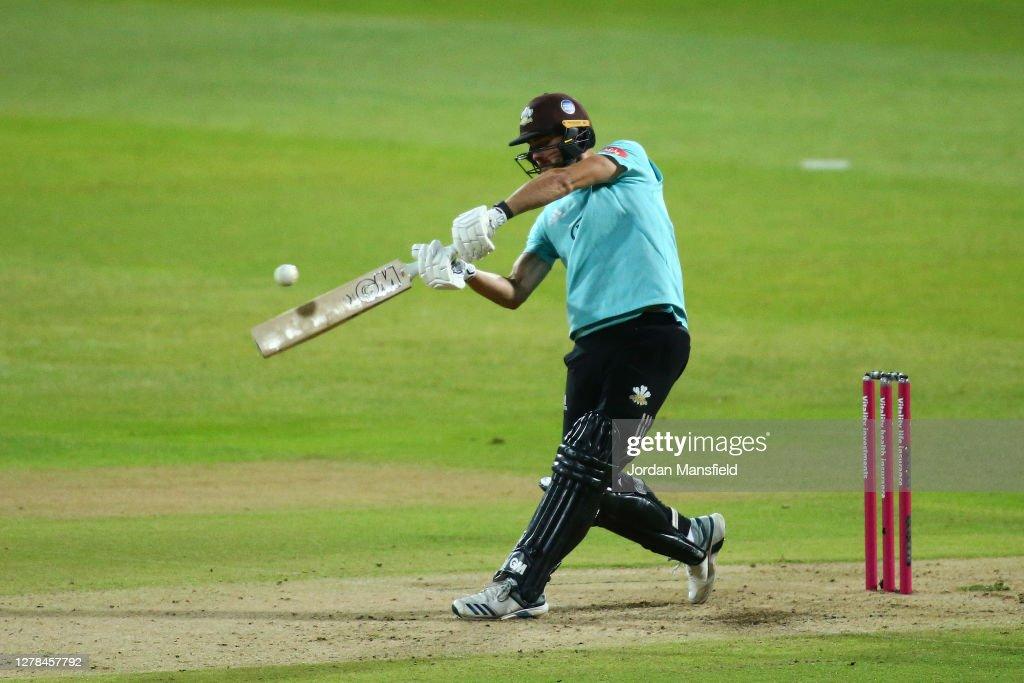 Surrey v Nottinghamshire - T20 Vitality Blast 2020 Final : News Photo