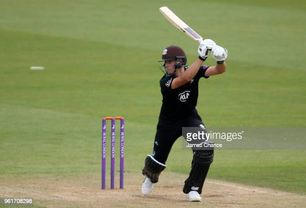 Will Jacks of Surrey in action during the Royal London OneDay Cup match between Surrey and Gloucestershire at The Kia Oval on May 23 2018 in London...