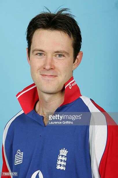 Will Jefferson of England A during a photocall for the England A And Under 19 Cricket squads at The ECB Cricket Academy on January 11 2007 in...