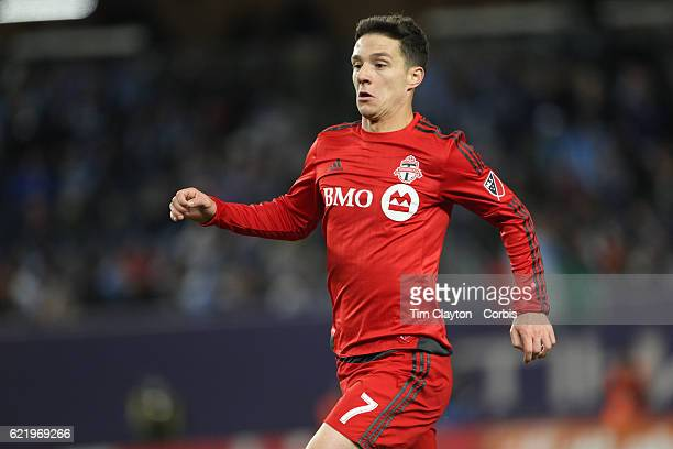 Will Johnson of Toronto FC in action during the NYCFC Vs Toronto FC MLS playoff game at Yankee Stadium on November 06 2016 in New York City