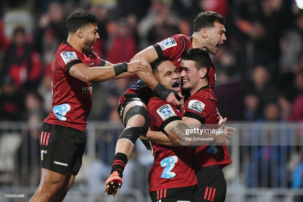 Super Rugby Aotearoa Rd 5 - Crusaders v Blues : News Photo