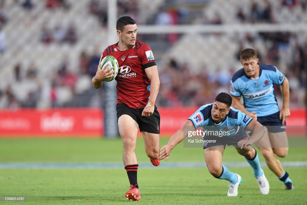 Super Rugby Rd 1 - Crusaders v Waratahs : News Photo