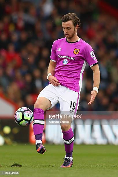 Will Keane of Hull City during the Premier League match between AFC Bournemouth and Hull City at Vitality Stadium on October 15 2016 in Bournemouth...