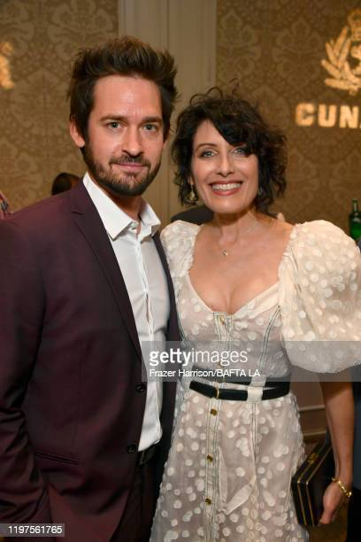 Will Kemp and Lisa Edelstein attend The BAFTA Los Angeles Tea Party at Four Seasons Hotel Los Angeles at Beverly Hills on January 04, 2020 in Los...