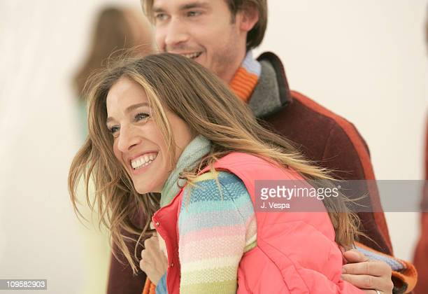 Will Kemp and Sarah Jessica Parker during Sarah Jessica Parker GAP Winter Ad Campaign BehindtheScenes September 21 22 and 23 2004 at Universal...