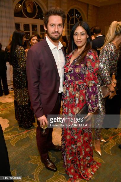 Will Kemp and Tehmina Sunny attend The BAFTA Los Angeles Tea Party at Four Seasons Hotel Los Angeles at Beverly Hills on January 04, 2020 in Los...