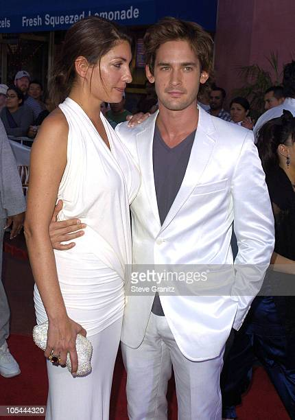 Will Kemp and wife Gaby during Van Helsing Los Angeles Premiere Arrivals at Universal Amphitheatre in Universal City California United States