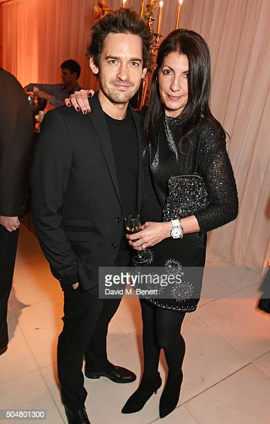 Will Kemp and wife Gaby Jamieson attend the opening night reception of the English National Ballet's 'Le Corsaire' hosted by St Martins Lane on...