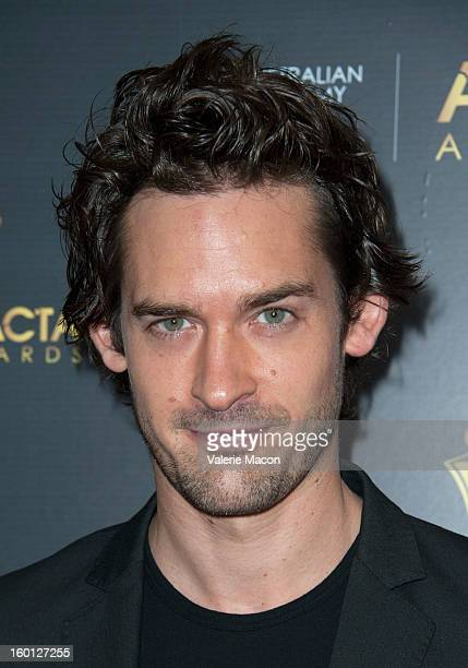 Will Kemp arrives at Australian Academy Of Cinema And Television Arts' 2nd AACTA International Awards at Soho House on January 26 2013 in West...