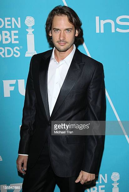 Will Kemp arrives at The Hollywood Foreign Press Association and InStyle hosts A Night of Firsts held at Cecconi's Restaurant on December 8 2011 in...