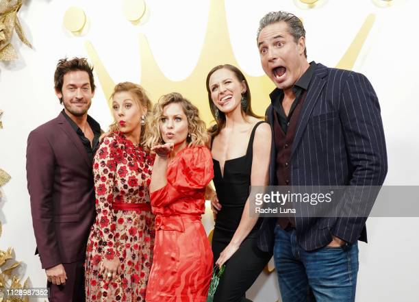 Will Kemp, Candace Cameron Bure, Jodie Sweedin, Shantel VanSanten and Victor Webster attend Hallmark Channel And Hallmark Movies And Mysteries 2019...