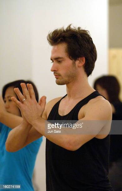 Will Kemp during Will Kemp Visits Yoga Workshop for Japanese Yoga Students April 13 2005 at Studio Yoggy Shibuya in Tokyo Japan