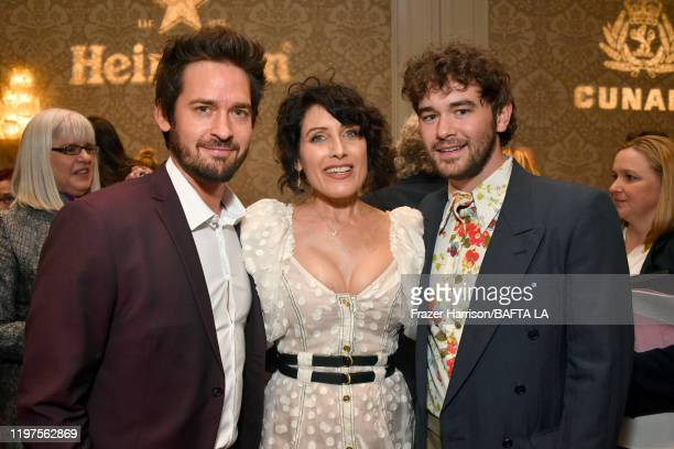 Will Kemp, Lisa Edelstein and Casey Thomas Brown attend The BAFTA Los Angeles Tea Party at Four Seasons Hotel Los Angeles at Beverly Hills on January...