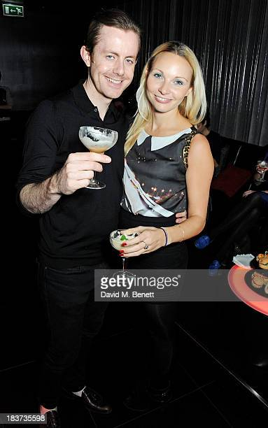 Will Kennard of Chase and Status and attends the launch of The Vinyl Collection curated by Annie Mac and the AMP 2013 album at W London Leicester...