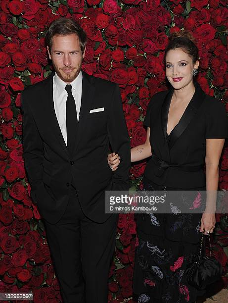 Will Kopelman and actress Drew Barrymore and guest attend the Museum of Modern Art's 4th Annual Film benefit 'A Tribute to Pedro Almodovar' at the...