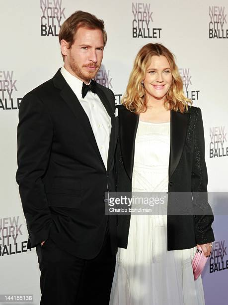 Will Kopelman and Drew Barrymore attends the New York City Ballet's Spring Gala at David H Koch Theater Lincoln Center on May 10 2012 in New York City