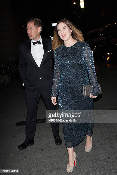 Will Kopelman and Drew Barrymore seen out and about on December 10 2015 in New York City
