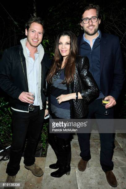 Will Kopelman Loree Rodkin John Kaplan attend NICOLAS BERGGRUEN's 2010 Annual Party at the Chateau Marmont on March 3 2010 in West Hollywood...