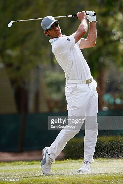 Will MacKenzie hits a tee shot on the 17th hole during the final round of the Valspar Championship at Innisbrook Resort and Golf Club on March 16,...