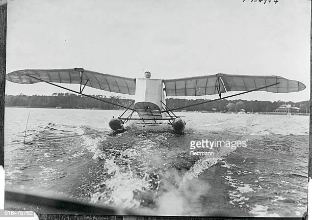 Will make long water flight in glider Hens Richter well known German flying ace plans fly over the channel this spring in ihis motorless plane this...