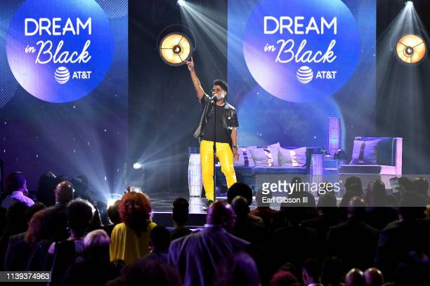 Will McMillan performs during the 34th annual Stellar Gospel Music Awards at the Orleans Arena on March 29 2019 in Las Vegas Nevada