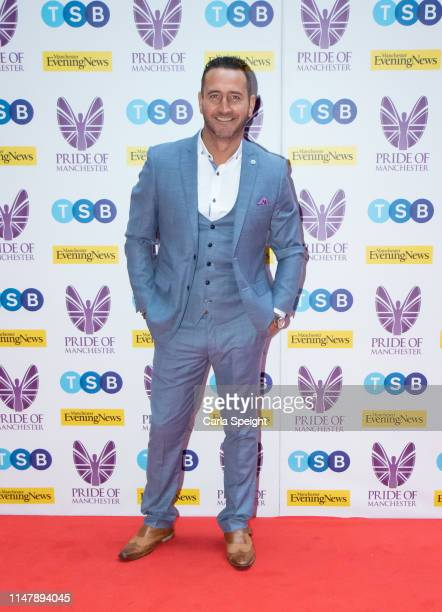Will Mellor attends the Pride of Manchester Awards 2019 at Waterhouse Way on May 08 2019 in Manchester England