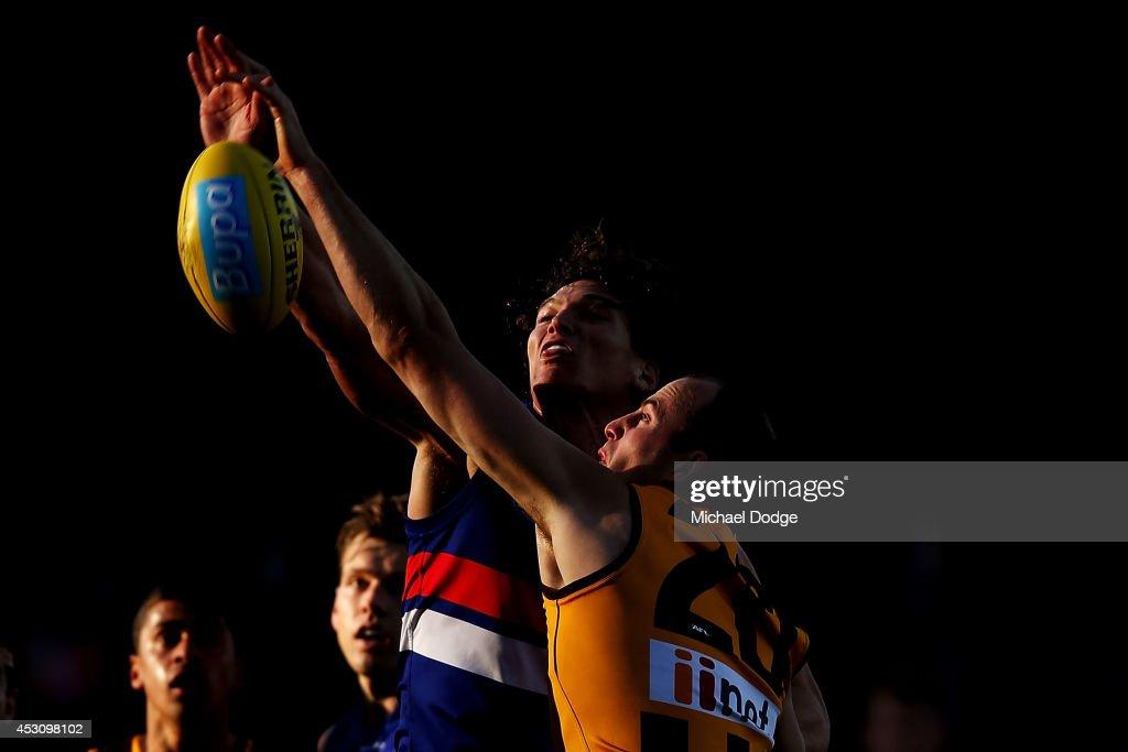 AFL Rd 19 - Hawthorn v Western Bulldogs
