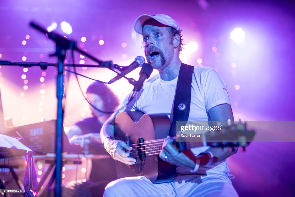 Will Oldham aka Bonnie 'Prince' Billy performs in concert at Razzmatazz 2 on July 17, 2017 in Barcelona, Spain.