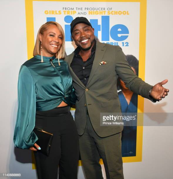 Will Packer and Heather Hayslett attend Little Atlanta Premiere at Regal Atlantic Station on April 4 2019 in Atlanta Georgia