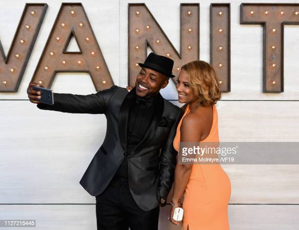 Will Packer and Heather Hayslett attend the 2019 Vanity Fair Oscar Party hosted by Radhika Jones at Wallis Annenberg Center for the Performing Arts...