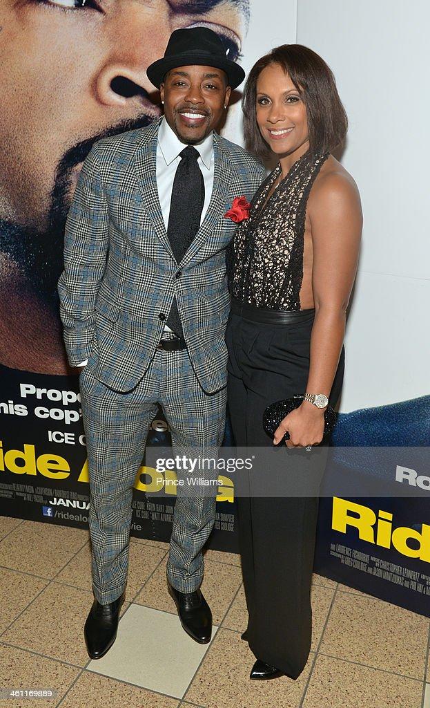 """Ride Along"" Atlanta Screening : News Photo"