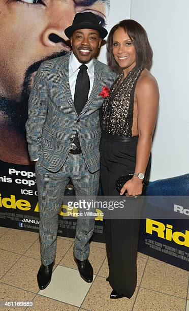 Will Packer and Heather Hayslett attend the Ride Along screening at Regal Atlantic Station on January 6 2014 in Atlanta Georgia