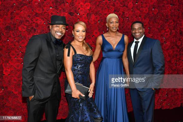 Will Packer Heather Hayslett Packer Andrea Lopez and James Lopez attend Tyler Perry Studios grand opening gala at Tyler Perry Studios on October 05...