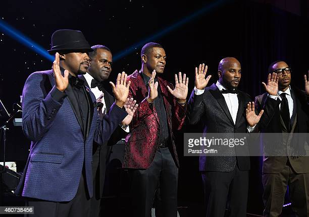 Will Packer Kasim Reed Chris Tucker Young Jeezy and Ludacris onstage at 31st Annual UNCF Mayor's Masked Ball at Marriott Marquis Hotel on December 20...