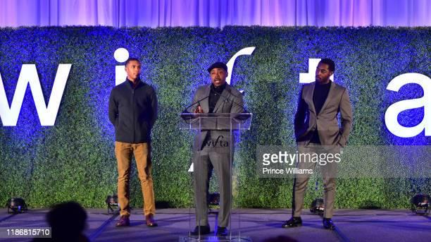 Will Packer speaks at the 2019 WIFTA Gala at Four Seasons Hotel on November 9 2019 in Atlanta Georgia