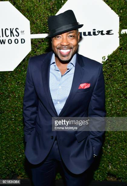 Will Packer wearing Hugo Boss attends Esquire's 'Mavericks of Hollywood' Celebration presented by Hugo Boss on February 20 2018 in Los Angeles...