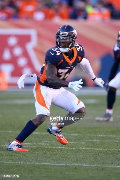Will Parks of the Denver Broncos in action during the game against the New York Jets at Sports Authority Field At Mile High on December 10 2017 in...