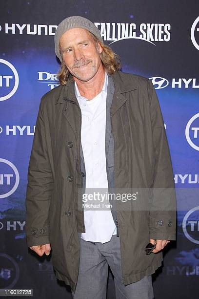 Will Patton arrives at the Los Angeles Premiere of 'Falling Skies' at SilverScreen Theater at the Pacific Design Center on June 13 2011 in West...