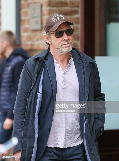 Will Patton seen arriving at the Weinstein offices for a Tribeca film festival event on April 16 2015 in New York City