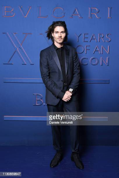 Will Peltz attends the Bvlgari BZERO1 XX Anniversary Global Launch Event at Auditorium Parco Della Musica on February 19 2019 in Rome Italy
