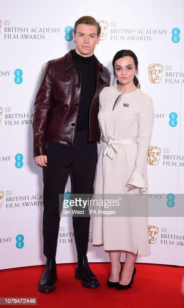 Will Poulter and Hayley Squires attending the EE British Academy Film Awards nominations announcement at BAFTA London