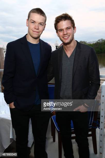 Will Poulter and Jeremy Irvine attend the Dom Perignon and Eric Podwall host of the evening before The White House Correspondents' Dinner at Fiola...