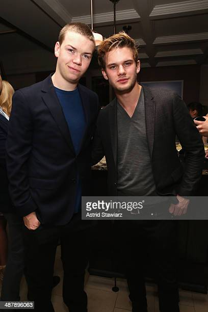 Will Poulter and Jeremy Irvine attend the Dom Perignon and Eric Podwall celebration of the evening before The White House Correspondents' Dinner at...
